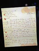 Lettre d'un couple souhaitant se marier secrètement à Gretna Green / Letter from a couple wishing to get secretly married in Gretna Green