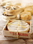 St Aubin, Banon and Chevre  French traditional regonal Cheeses