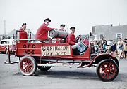 CS01773-01. Garibaldi Fire Truck in Rockaway parade. July 5, 1958