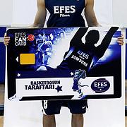 Turkish Basketball team Efes Pilsen's Igor RAKOCEVIC during their Efes Pilsen sports hall in Istanbul Turkey on Weonesday 22 September 2010. Photo by Aykut AKICI/TURKPIX