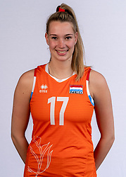 Nicole Oude Luttikhuis of Netherlands, Photoshoot selection of Orange women's volleybal team season 2021on may 12, 2021 in Arnhem, Netherlands (Photo by RHF Agency/Ronald Hoogendoorn)