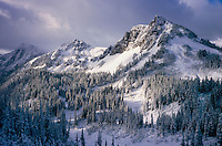 Buck Creek Pass after September snow storm, Glacier Peak Wilderness in the North Cascades Washington