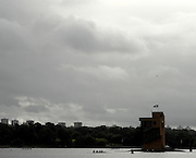 Motherwell, SCOTLAND. GV's, Finish tower and boating area, at the  2007 FISA U23 [Senior B] World Championship Regatta, Strathclyde Country Park.  25/07/2007 [Mandatory credit Peter Spurrier/ Intersport Images].