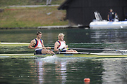 Bled, SLOVENIA,  GBR M2-, Bow, Peter REED and Andy TRIGGS-HODGE, on the second day of the FISA World Cup, Bled. Held on Lake Bled.  Saturday  29/05/2010  [Mandatory Credit Peter Spurrier/ Intersport Images]
