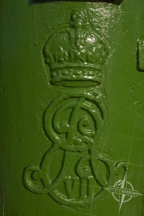 Irish post box in Ireland.
