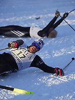 20011202: Trond Iversen fra Mjøndalen ble slått ut på målstreken i semifinalen. (Foto: Andreas Fadum, Digitalsport)