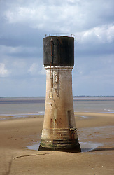 Look out tower on Spurn Point; Yorkshire,