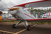 Homebuilt biplane at Wings and Wheels at Oregon Aviation Historical Society.