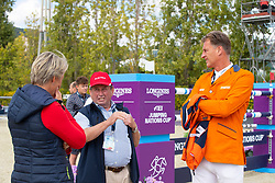 Houtzager Marc, NED, Houtzager Julia, AUT<br /> Longines FEI Jumping Nations Cup™ Final<br /> Barcelona 20128<br /> © Hippo Foto - Dirk Caremans<br /> 07/10/2018