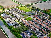 Nederland, Noord-Holland, gemeente Hollands Kroon, 07-05-2021; Kreileroord, het kleinste dorp van de Wieringermeer, Wieringerwerf.<br /> Kreileroord, the smallest village of the Wieringermeer, Wieringerwerf.<br /> <br /> luchtfoto (toeslag op standard tarieven);<br /> aerial photo (additional fee required)<br /> copyright © 2021 foto/photo Siebe Swart