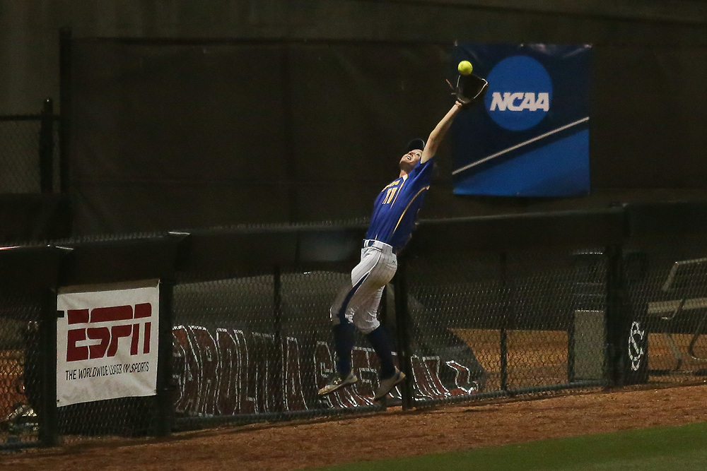 Hofstra Pride vs. South Carolina Gamecocks in Game 4 of the Columbia Regional at Beckham Field in Columbia, S.C. on Saturday, May 19, 2018. <br /> Zach Bland/For Hofstra Athletics