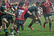 Harlequins Cadan Murley  GLOUCESTER RUGBY'S Jacob Morris  during the Gallagher Premiership Rugby match between Gloucester Rugby and Harlequins at the Kingsholm Stadium, Gloucester, United Kingdom on 6 December 2020.