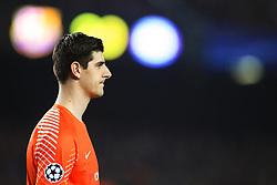 Thibaut Courtois of Chelsea - Mandatory by-line: Matt McNulty/JMP - 14/03/2018 - FOOTBALL - Camp Nou - Barcelona, Catalonia - Barcelona v Chelsea - UEFA Champions League - Round of 16 Second Leg