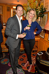 BRENDAN & ZOE COLE at the launch of GP Nutrition held at Annabel's, 44 Berkeley Square, London on 26th January 2016.
