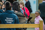 The Duchess of Cornwall, President, Ebony Horse Club, visits the charity's Brixton riding centre. The centre is celebrating its 21st birthday and its 6th year on this site. London 16 Feb 2017 .