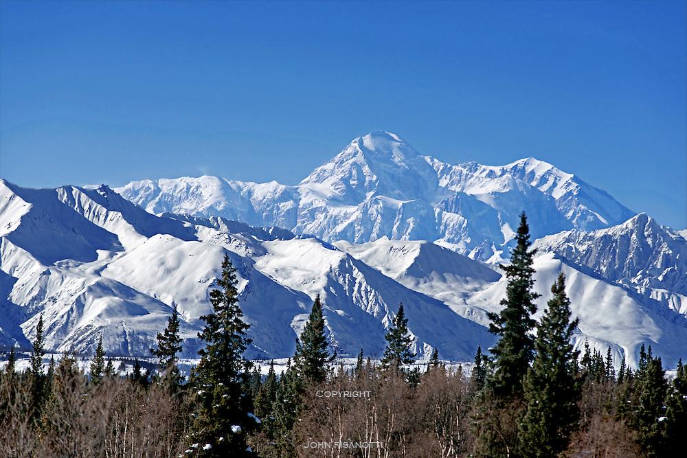 Mt. McKinley (Denali) the highest mountain in North America