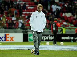 KAZAN, RUSSIA - Thursday, November 5, 2015: Liverpool's manager Jürgen Klopp before the UEFA Europa League Group Stage Group B match against FC Rubin Kazan at the Kazan Arena. (Pic by Oleg Nikishin/Propaganda)