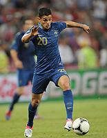 Fotball<br /> EM 2012<br /> 11.06.2012<br /> Frankrike v England<br /> Foto: Witters/Digitalsport<br /> NORWAY ONLY<br /> <br /> Hatem Ben Arfa (Frankreich)<br /> Fussball EURO 2012, Vorrunde, Gruppe D, Frankreich - England 1:1