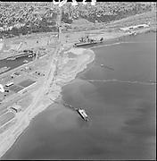 "POP_323-08 ""Aerials of Portland Center fill area. July 25, 1967"" (Swan Island)"