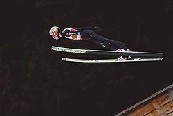 04.03.2021, Oberstdorf, GER, FIS Weltmeisterschaften Ski Nordisch, Oberstdorf 2021, Herren, Skisprung HS137, Qualifikation, im Bild Karl Geiger (GER) // Karl Geiger of Germany during qualification for the ski jumping HS137 competition of FIS Nordic Ski World Championships 2021 in Oberstdorf, Germany on 2021/03/04. EXPA Pictures © 2021, PhotoCredit: EXPA/ JFK