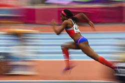 March 2, 2018 - Birmingham, England, United Kingdom - Yorgelis Rodríguez ofCuba at long jump Pentathlon at World indoor Athletics Championship 2018, Birmingham, England on March 2, 2018. (Credit Image: © Ulrik Pedersen/NurPhoto via ZUMA Press)