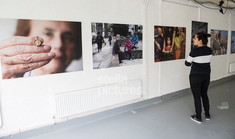 Photographs from the Migration Museum's Call me by my name: stories from Calais and beyond exhibition at the Migration Museum Project, London.<br /> Picture by Daniel Hambury/Stella Pictures Ltd 07813022858<br /> 24/04/2017