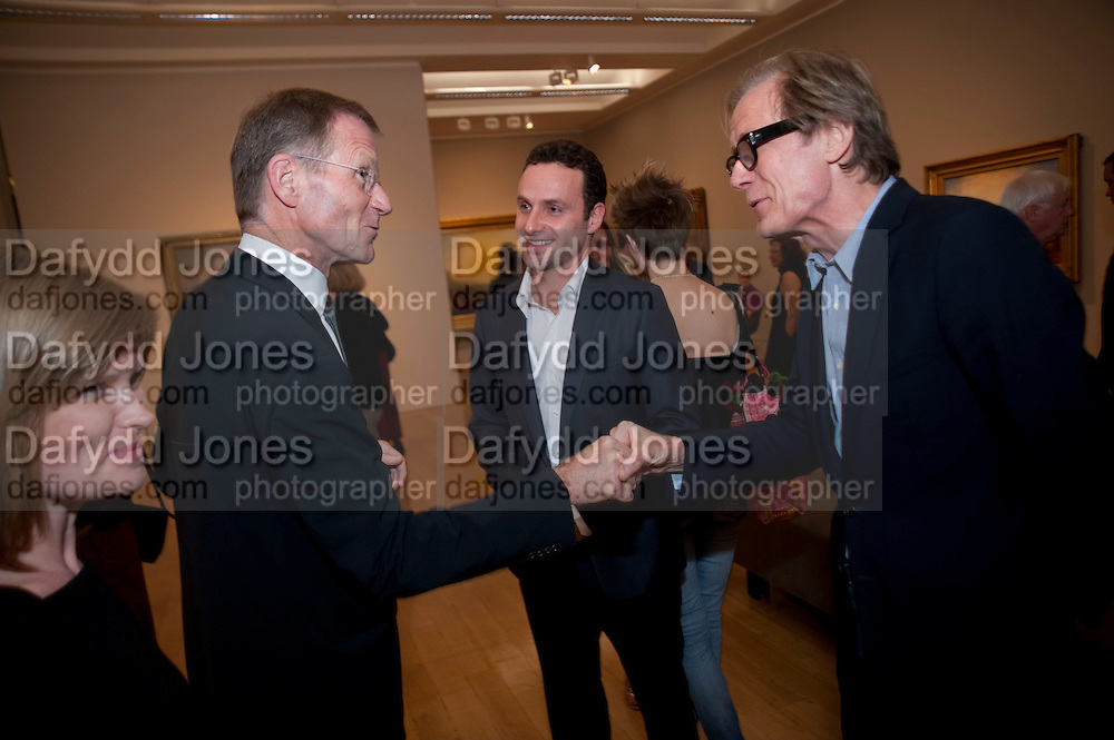 SIR NICHOLAS SEROTA; ANDREW LINCOLN; BILL NIGHY, Private view and dinner for the opening of Turner and the Masters. Tate Britain on Millbank, London. 21 September 2009