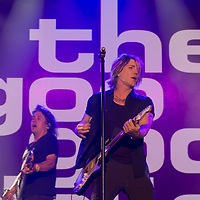 Members of American rock band Goo Goo Dolls (formerly known as Sex Maggot) perform at the A38 Stage of Sziget Festival held in Budapest, Hungary on Aug. 13, 2018. ATTILA VOLGYI