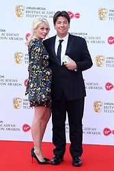 British Academy Television Awards at the Royal Festival Hall in London, UK. 12 May 2019 Pictured: Michael McIntyre and Kitty McIntyre. Photo credit: Fred Duval/MEGA TheMegaAgency.com +1 888 505 6342