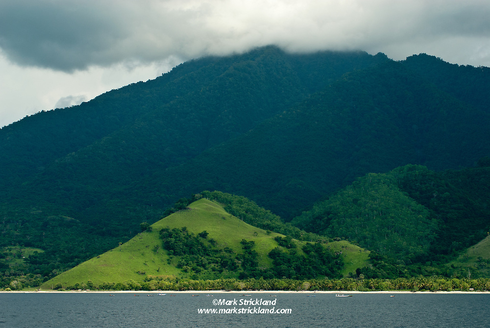 Pulau Kawula, one of many volcanic islands in the Alor Region of Indonesia