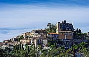Hilltop town of Eze, Cote d'Azur, France