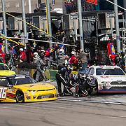 Mar 03, 2018  Las Vegas, NV, U.S.A.Mid point pit stop during the Nascar Xfinity series Boyd Gaming 300 at Las Vegas Motor Speedway Las Vegas, NV.  Thurman James / CSM