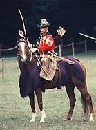 Japanese archer on horseback<br />Photo by Dennis Brack. bb77