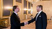 Koning beedigt raadsheer Martin Kuijer voor Hoge Raad