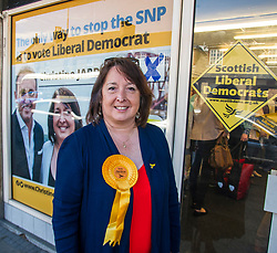 Pictured: Christine Jardine<br /> Scottish Liberal Democrat candidate for Edinburgh West, Christine Jardine launched her campaign today for the Weastminster Parliament. She wase joined by former leader Menzies Campbell, MSP Alex Cole-Hamilton and Scottish Liberal Democrat leader Willie Rennie.<br /> <br /> Ger Harley   EEm 6 May2017