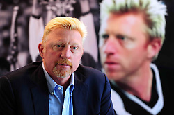 SHENZHEN, CHINA - MARCH 19: (CHINA OUT)..Boris Becker speaks as he declares to open his first tennis college globally in China together with the Mission Hills on March 19, 2016 in Shenzhen, Guangdong Province of China. .©Exclusivepix Media (Credit Image: © Exclusivepix media via ZUMA Press)