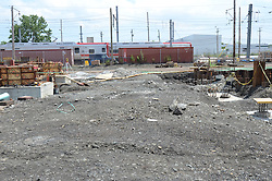 New Haven Rail Yard, Independent Wheel True Facility. CT-DOT Project # 0300-0139, New Haven CT..Photograph of Construction Progress Photo Shoot 13 on 27 July 2012. One of 52 Images Captured this Submission.