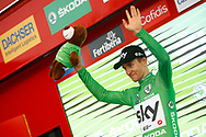 Michal Kwiatkowski (POL - Team Sky) Green jersey, during the UCI World Tour, Tour of Spain (Vuelta) 2018, Stage 3, Mijas - Alhaurin de la Torre 178,2 km in Spain, on August 27th, 2018 - Photo Luca Bettini / BettiniPhoto / ProSportsImages / DPPI