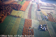 PA Landscapes, Southcentral Pennsylvania, Aerial Photographs Farmlands, Mixed Cultivation, Perry  County, PA Farms