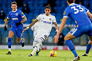 Leeds United forward Raphinha (18) in action during the Premier League match between Leeds United and Brighton and Hove Albion at Elland Road, Leeds, England on 16 January 2021.