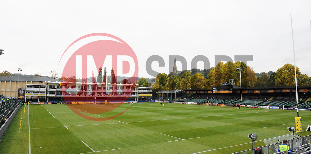 General view of the Recreation Ground, Bath.  - Mandatory byline: Alex Davidson/JMP - 07966 386802 - 17/10/2015 - RUGBY - The Recreation Ground - Bath, England - Bath Rugby v Exeter Chiefs - Aviva Premiership
