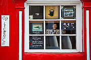 The Red House Inn public bar and Off LIcence in Chapel Street, Lismore, County Waterford, Ireland
