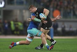 November 24, 2018 - Rome, Italy - Italy v New Zealand All Blacks - Rugby Cattolica Test Match.New Zealands Nathan Harris at Olimpico Stadium in Rome, Italy on November 24, 2018. (Credit Image: © Matteo Ciambelli/NurPhoto via ZUMA Press)