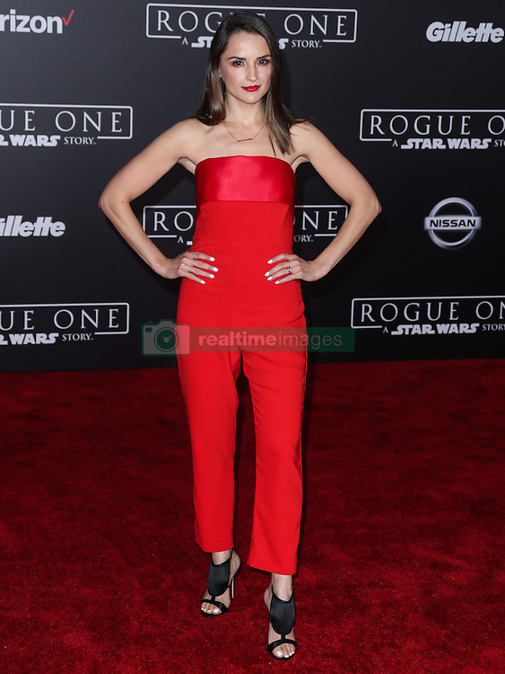 World Premiere Of Walt Disney Pictures And Lucasfilm's 'Rogue One: A Star Wars Story' at the Pantages Theatre on December 10, 2016 in Hollywood, California. 10 Dec 2016 Pictured: Rachael Leigh Cook. Photo credit: Image Press/MEGA TheMegaAgency.com +1 888 505 6342