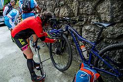 13-09-2017 FRA: BvdGF Tour du Mont Blanc day 4, Trient<br /> Van Chamonix naar Trient. <br /> Beatriz