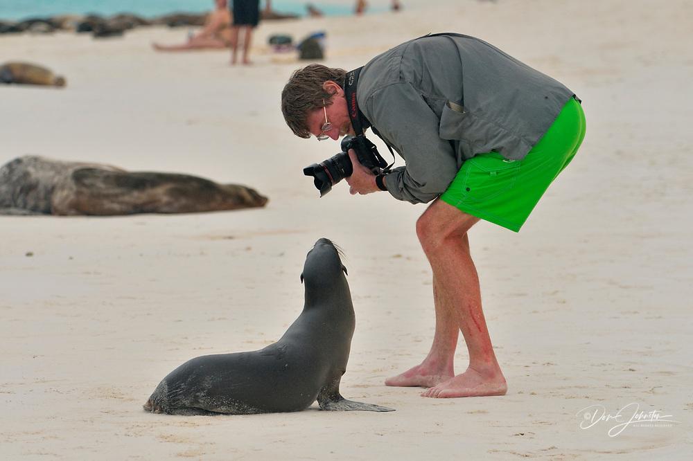 , Galapagos Islands National Park, Espanola (Hood) Island, Gardner Bay, Ecuador