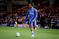 Peterborough United forward Ivan Toney (17) surging forward during the EFL Sky Bet League 1 match between Peterborough United and Accrington Stanley at London Road, Peterborough, England on 20 October 2018.