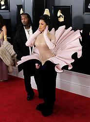 2019 Grammy Awards - Arrivals. 10 Feb 2019 Pictured: Cardi B, Migos. Photo credit: Jaxon / MEGA TheMegaAgency.com +1 888 505 6342
