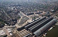 AMSTERDAM -  Centraal Station,    COPYRIGHT  KOEN SUYK