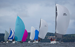 Largs Regatta Week 2017 <br /> Day 1<br /> <br /> RC 35 Fleet with GBR9740R, Sloop John T, Iain & Graham Thomson, CCC, Swan 40<br /> <br /> Picture Marc Turner